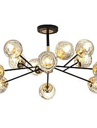 cheap -92 cm Single Design Flush Mount Lights Metal Glass Modern 110-120V 220-240V