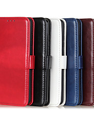 cheap -Case For Samsung Galaxy X Cover4 4S J5(2017) J7(2017)J7 Duo S8 S9 S9Plus A8(2018) A8Plus(2018)  Card Holder Shockproof Magnetic Full Body Cases Solid Colored PU Leather TPU