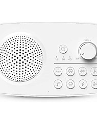 cheap -Three Sheep White Noise Sound Machine - 8 Soothing Sounds, Timer with Auto-Off, Rechargeable Battery and AC Adapter - Ideal Sleeping and Privacy Aid for Bedroom, Baby Nursery, Office or Hotel Travel