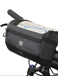 cheap -Bike Handlebar Bag 6.2 inch Cycling for Dark Gray Bike / Cycling