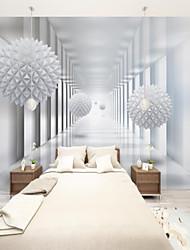 cheap -Art Deco Custom Self Adhesive Mural Wallpaper Art Sphere Suitable For Bedroom Living Room Coffee Shop Restaurant Hotel Wall Decoration Art