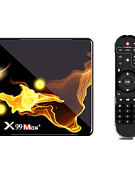 cheap -X99MAX 4GB 32GB 64GB 128GB S905X3 TV Box 8k HD Quad Core HDMI 2.1 Media Player Android 9.0 Wifi 4.1 Bluetooth Set Top Box