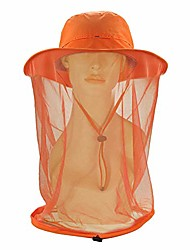 cheap -mosquito head net hat for men women, ayamaya wide brim sun protection hats with face neck cover head cover netting protection from insect bug bee gnats bucket hat cap for fishing camping gardening