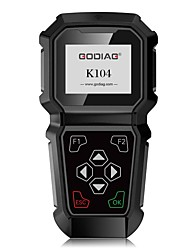 cheap -GoDiag K104  HD Color Display Screen TOYOTA Hand-held key Programming Fast and Stable Operation Support High Capacity TF Card or USB