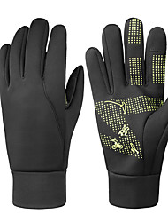 cheap -Mens Winter Thermal Gloves Touch Screen Glove Water Resistant Windproof Warm for Driving Cycling Running