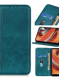 cheap -Case For OPPO A9 2020 A5 2020 A11X A11 Reno Ace Realme X2 Pro Reno 3 A91 F15 A8 A31 Reno 3 5G Find X2 A52 A72 A92 A92S Reno 4 Flip Magnetic Full Body Cases Solid Colored PU Leather