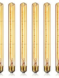 cheap -6pcs 4pcs Dimmable Vintage Edison Bulb E27 T300 40W Chandelier Pendant Lights 220V LED Lamp Incandescent Light Rope Lamp