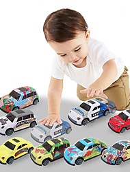 cheap -Friction Vehicle Pull Back Car / Inertia Car Pull Back Vehicle Mini Cartoon Drop-resistant Alloy Mini Car Vehicles Toys for Party Favor or Kids Birthday Gift 10 pcs / Kid's