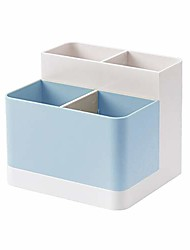 cheap -Desktop Storage Organizer Pencil Card Holder Box Container For Desk, Office Supplies, Vanity Table