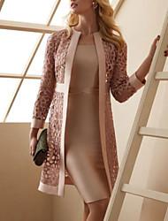 cheap -Sheath / Column Mother of the Bride Dress Elegant Jewel Neck Knee Length Satin Short Sleeve with Sash / Ribbon 2021