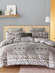 cheap -Bohemian Style 3-Piece Duvet Cover Set Hotel Bedding Sets Comforter Cover with Soft Lightweight Microfiber(Include 1 Duvet Cover and 1 or 2 Pillowcases)