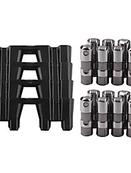 cheap -TB017ATB017B New LS7 LS2 16 GM Performance Hydraulic Roller Lifters & 4 Guides 12499225 HL124