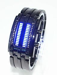 cheap -Women's Couple's Men's Wrist Watch Digital Digital Fashion Water Resistant / Waterproof Creative LED / One Year