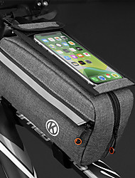 cheap -Cell Phone Bag Bike Frame Bag Top Tube 6.4 inch Cycling for All Phones Dark Gray Bike / Cycling