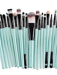 cheap -Professional Makeup Brushes 20pcs Professional Soft Full Coverage Comfy Plastic for Makeup Brush Set