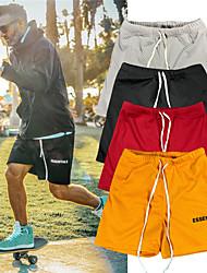 Недорогие -Универсальные Спортивные штаны Спортивные штаны Спортивное Шорты Нижняя часть Сетка Кулиска Фитнес Тренировка в тренажерном зале Бег Велоспорт Легкость Дышащий Влагоотводящие Нормальная Спорт