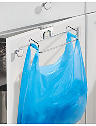 cheap -Classico Steel Over The Cabinet Plastic Bag Holder For Kitchen Pantry Bathroom Dorm Room Offic