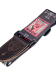 cheap -NAOMI Vintage Adjustable Guitar Strap Shoulder Belt For Acoustic/ Electric Guitar Bass
