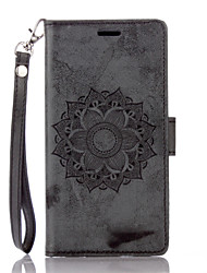cheap -Case for  LG G 3 4 Flip Magnetic Full Body Cases Flower PU Leather