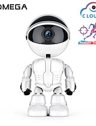 cheap -INQMEGA 1080P Cloud WIFI Robot camera Home Security Surveillance IP Camera Children Accompany Robot Wireless WiFi CCTV Camera