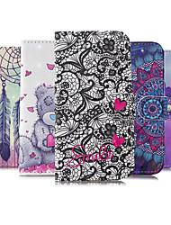cheap -Case For Motorola MOTO G6 Moto G6 Plus E5 Play Z3 Play E5 Play GO G7 Plus G7 Play Card Holder  Flip Back Cover Geometric Pattern TPU