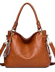 cheap -Women's Bags PU Leather Waterproof Top Handle Bag Hobo Bag Chain Handbags Holiday Date Wine Black Brown Dark Blue