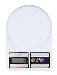 cheap -Portable 5kg 1g Digital Scale LCD Electronic Scales Steelyard Kitchen Scales Postal Food Balance Measuring Weight Libra Use 2 AA batteries not included