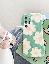 cheap -Summer Painting Flower Case for Huawei P30 Pro P40 Pro Mate 30 Pro Protection Cover