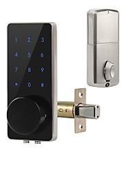 cheap -Zinc Alloy Fingerprint Lock / Intelligent Lock Smart Home Security System Fingerprint unlocking / Password unlocking Household / Home / Apartment Security Door / Copper Door (Unlocking Mode