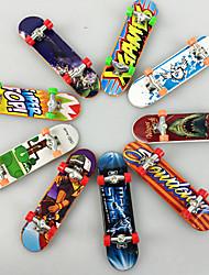 cheap -10 pcs Finger skateboards Mini fingerboards Finger Toys Plastic Office Desk Toys Cool Matte Surface Kid's Teen Unisex Party Favors  for Kid's Gifts