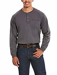 cheap -but& #39;s fr air henley long sleeve work shirt tall charcoal xxx-large tall