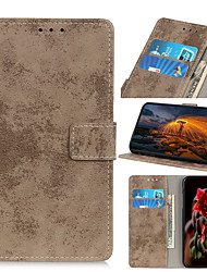 cheap -Case For Xiaomi Mi CC9 9 Lite CC9 E Poco X2 10 10 Pro Redmi 7A Note 8 Note 8 Pro 8 8A Note 8T K30 K30 5G K30I 5G 9 9A 9C Flip Magnetic Full Body Cases Solid Colored PU Leather