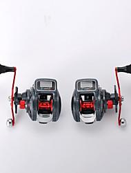 cheap -Fishing Reel Baitcasting Reel 6.3:1 Gear Ratio+16 Ball Bearings Right-handed / Left-handed Sea Fishing / Spinning / Jigging Fishing / Trolling & Boat Fishing