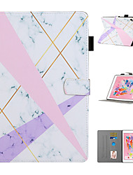 cheap -Case For Apple iPad Mini 1 2 3 iPad Mini 4 iPad Mini 5 Card Holder with Stand Pattern Full Body Cases Animal Tree Flower PU Leather