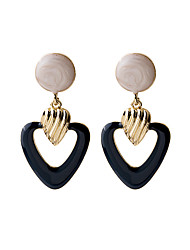 cheap -Women's Drop Earrings Earrings Vintage Style Simple European Trendy Fashion Earrings Jewelry Gold For 1 Pair