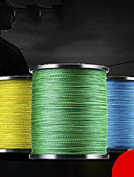 cheap -PE Braided Line / Dyneema / Superline 8 Strands Fishing Line 500M / 550 Yards PE 100LB Abrasion Resistant