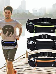 cheap -2 L Hiking Backpack Anti-Slip Waterproof Zipper Sweat-Wicking Outdoor Marathon Hiking Climbing Lycra Black / Orange Black Black / Green