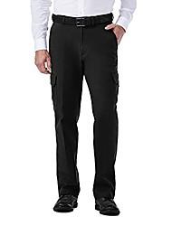 cheap -men's hc00225 stretch comfort cargo pant, black - 32-32