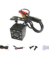 cheap -Car Rear View Camera Universal 8 LED Night Vision Backup Parking Reverse Camera Waterproof 120 Wide Angle HD Color Image