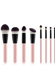 cheap -Professional Makeup Brushes 11pcs Professional Soft Full Coverage Comfy Plastic for Eyeliner Brush Blush Brush Foundation Brush Makeup Brush Eyeshadow Brush