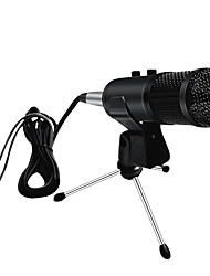 cheap -Professional Condenser USB Microphone With Stand For Laptop Karaoke Singing Streaming Gaming Podcast Studio Recording Mikrofon