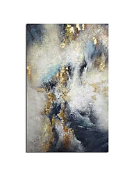 cheap -New 100% Hand Painted Abstract Gold Art Wall Picture Handmade Golden Tree Canvas Oil Painting For Living Room Home Decor Rolled Without Frame