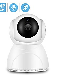 cheap -BESDER 1080P 3MP Wifi IP Camera Auto Tracking IR Night Vision Home Security Camera Indoor Mini Audio Baby Monitor CCTV Camera IP