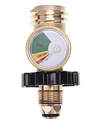 cheap -POL Propane Gas Meter QCC1 BBQ Pressure Valve Propane Tank Pressure Test Instrument Tool