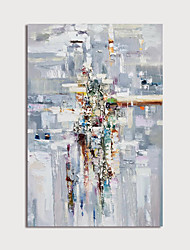 cheap -Hand-Painted Abstract Paintings Canvas Art  Painting Abstract Acrylic Painting Modern Art Textured Art  with Stretcher Ready to Hang With Stretched Frame
