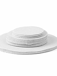 cheap -Felt Plate Dividers China Storage Separator Protectors White/grey Extra Thick And Premium Soft Set of 24/48 11.5CM 15CM 25CM