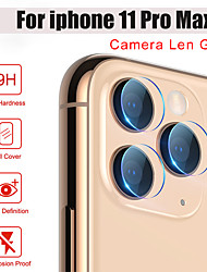 cheap -1/2/3/5/10 PCS Back Len Protective Glass for iPhone 11 Camera Lens Film Screen Protector on the for iPhone 7 8 Plus 6 6S X XR XS Max 5 Glass