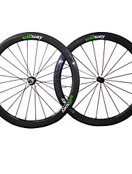 cheap -NEASTY 700CC Wheelsets Cycling 23 mm / 25 mm Road Bike Carbon Fiber / Full Carbon Clincher 20/24 Spokes 50 mm