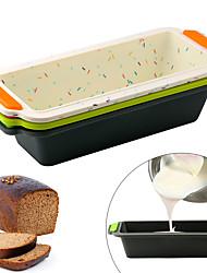 cheap -Silicone Bread Loaf Pan Rectangle Non-stick Cake Mold 1Pc