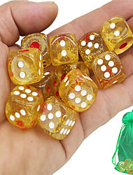 cheap -Dice Chips Professional Resin ABS 10 pcs Adults' Men's Women's Boys' Toy Gift
